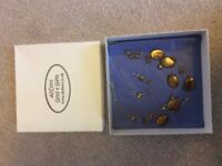 NECKLACE EARRING SET BOXED FROM ADHORS GOLD AND GIFTS