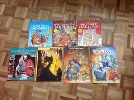 Children's history books x 7