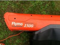 Flymo 1500 leaf blower vacuum