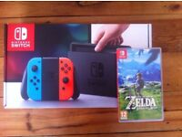 Nintendo Switch Neon Bundle