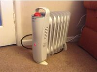 Portable Oil-filled electric radiator