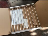 BabyDan No Trip metal safety gate white brand new in box