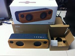 House of Marley Get Together Mini Bluetooth Wireless Speaker__ EM-JA013-DN