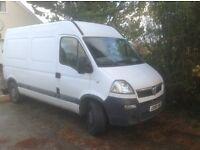 Vauxhall movano spares and repairs. (Mot failure)