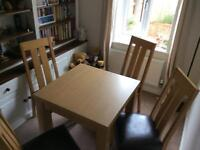 Next Dinning Room Table and Chairs