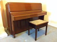 Knight K6 Upright Piano and Stool.