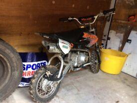 110cc xsport pitbike