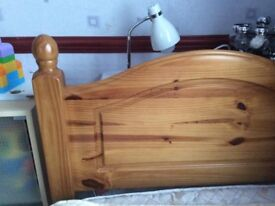 Single Pine Bed