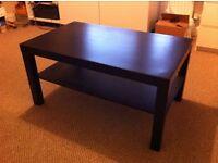 IKEA LACK coffee table (black-brown)