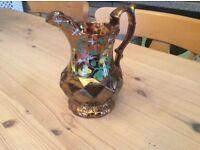 Welsh glazed jug