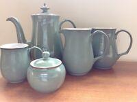 Denby Regency Green coffee set