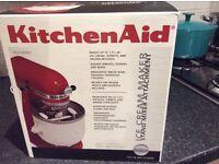 Kitchen Aid ice cream maker