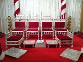 **** Mandap / Paisley / Wedding Chairs / Swing / Statue / Jhula or Arch / Entrance / Sofa ****