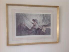 Framed print by Sir William Russell-Flint