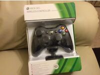 Official Xbox 360 Wireless controller & play & charge kit unopened