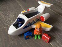 Playmobil 1.2.3 Series Jet