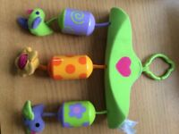 Tiny Love wind chimes buggy/car seat/playmat toy