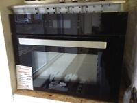Beko intergrated oven/ microwave. A rated £310 RRP £450 new/graded 12 month Gtee