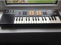 Casio sk5 sampler with drum pads & voice mic gwo good condition