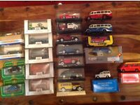 Collection of die cast cars