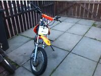 Child's pit bike