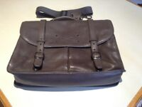 Ted Baker brown leather satchel bag