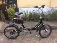 ECO STEPPER from Viking : Electric folding bike : In excellent condition