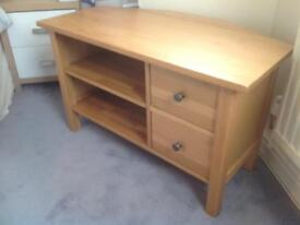 Oak tv cabinet (bought from old creamery).