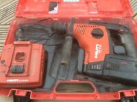 Hilti TE 7 Battery SDS Drill selling as spares or repairs
