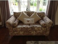 Expensive 4 seater and 2 seater sofa settee rrp 3500