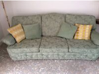 3 Piece Suite - 3 seater sofa & 2 armchairs