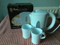 TRAVEL KETTLE (Russell Hobbs) vgc..2 cups etc.