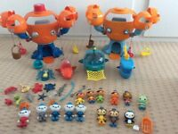 OCTONAUTS TOYS AND BOOKS BUNDLE
