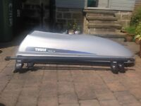 Thule Alpine 100 Roof Box, 750 Foot Pack and 762 Bars