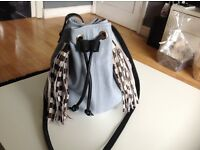 River island leather bag as new
