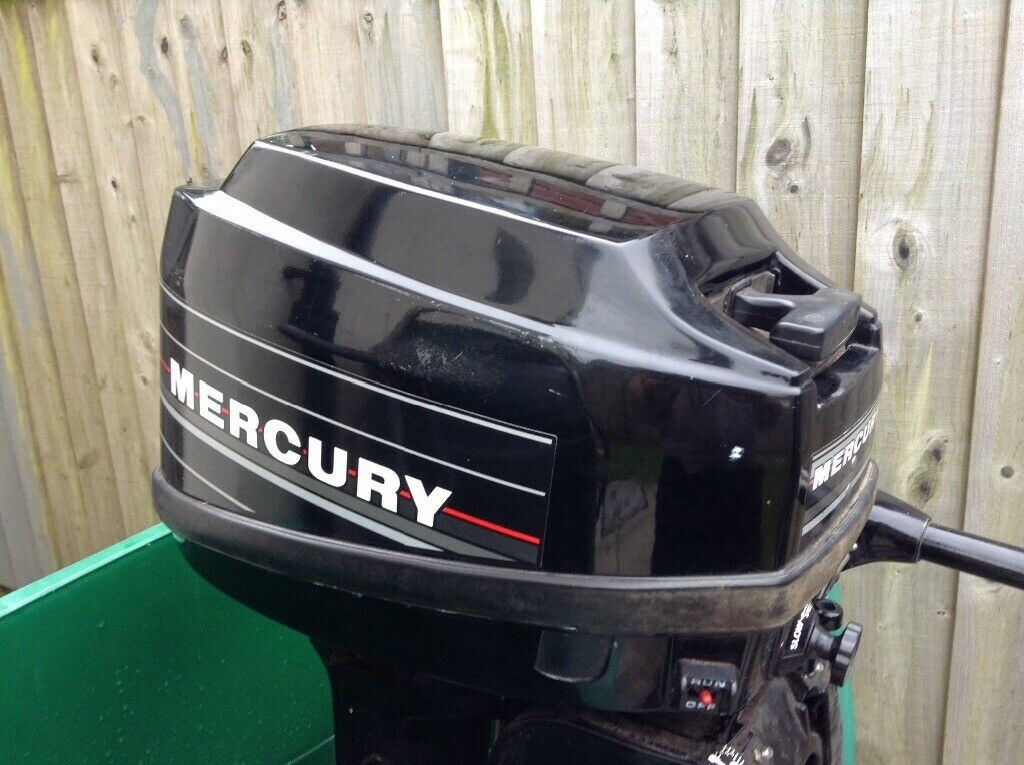 Mercury 9 9hp blackmax outboard engine needs tlc | in Camelford, Cornwall |  Gumtree