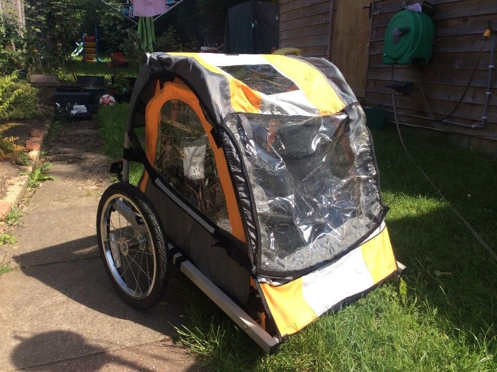 6dba8e9ba91 children's double Bike Trailer (Halfords) | in Greenford, London ...