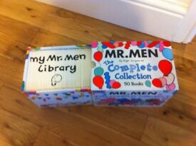 Mr Men collection and Little Miss collection