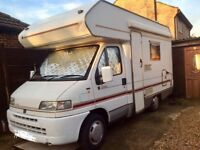 Fiat Ducato 520 Lifestyle MotorHome With Bike Rack.