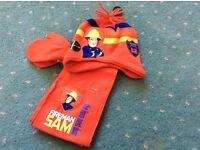 Fireman Sam hat set