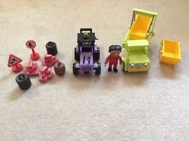 Bob The Builder vehicles and character