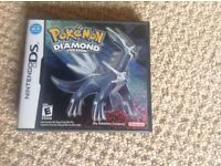 Pokemon Diamond game for sale - Mint condition, for Ds/Dsi