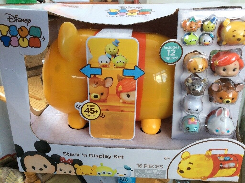 BNIB Disney Tsum Tsum Stack 'n' Display Winnie