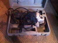 RYOBI angle grinder in box EAG 8011 800w