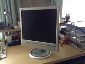 Phillips flat screen computer monitor