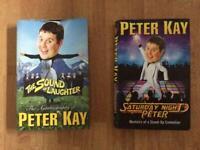 2 Peter Kay hardback books