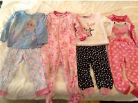 Girls pyjamas 2-3 years