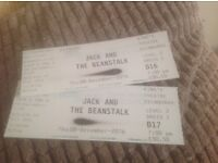 2 x adult tickets for Panto, Kings Theatre, Edinburgh on Thu 8th December