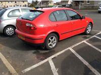 Seat 1500cc mot June new tyres new exchust good body runs good abs light on £300