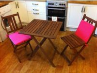Ikea Folding Table and Chairs
